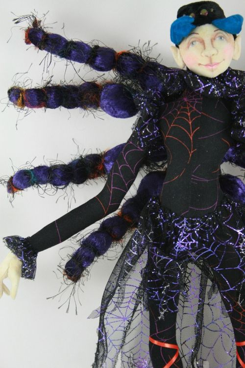 Halloween Spider Sprite by The Magic Bean comp