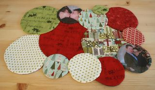 Reversible Christmas Placemat by Colleen Babcock