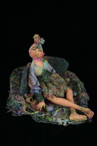 C Babcock Loiseau art doll for sale