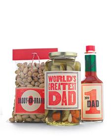Martha stewart father's day food labels