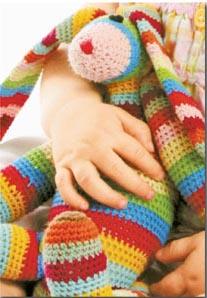 Eve Leder Crochet Bunny pattern at Fairfield