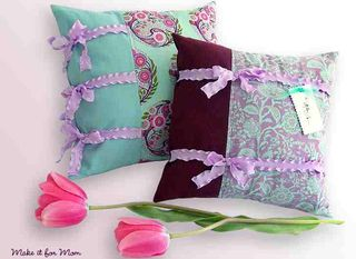 Sew4Home Mothers Day Pillows