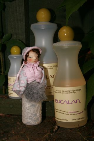 Doll Making Tutorial Eucalan Bottle Doll