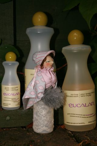 Delicate Disposition Cloth and Bottle Doll Tutorial