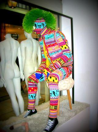 Wool Modern Scare-isle