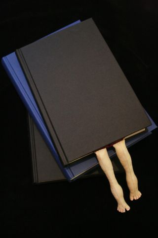 Colleen Babcock Dive Into a Book bookmark