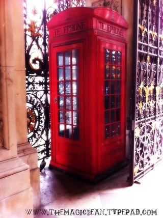 London Calling Phone Box