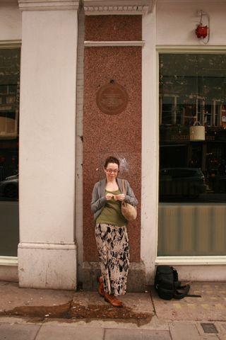 Colleen Babcock doll making at 84 Charing Cross Road