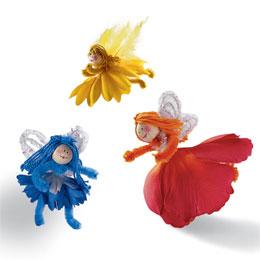 Flower-friends doll tutorial