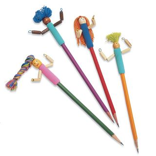 Pencil dolls tutorial