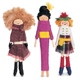 World of worry dolls