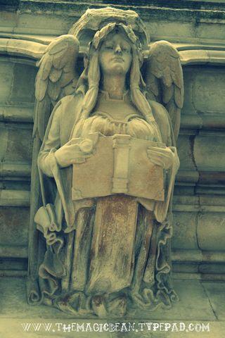 Angelic sculpture