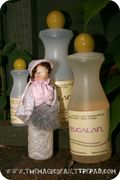 Delicate Disposition Eucalan Bottle Doll Tutorial