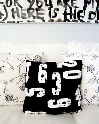 Alisa burke numbers pillow