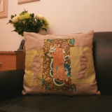Romantic Silhouette Pillow tiny