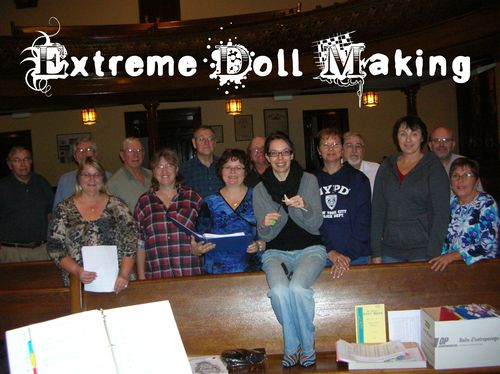 Extreme Doll Making with the Embro Thistle Singers