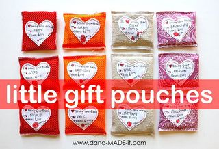 Little gift pouches