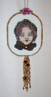 Romona king cross stitch ornament tutorial