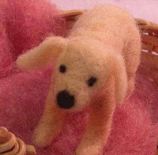 Edwina Sutherland needle-felted dog tutorial