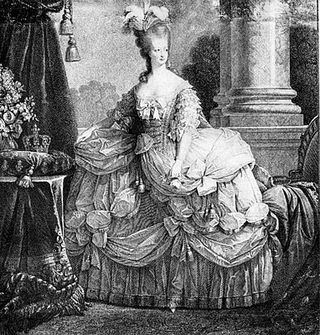 Picture of marie antoinette