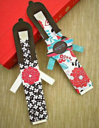 Kimono doll bookmarks