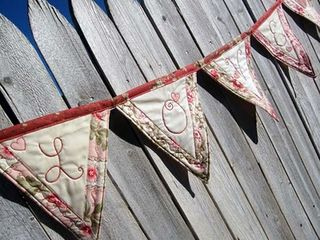 Love Bunting tutorial on Moda Bakeshop