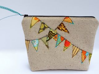 Bunting pouch tutorial