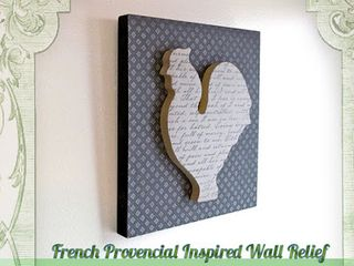 French provincial wall art