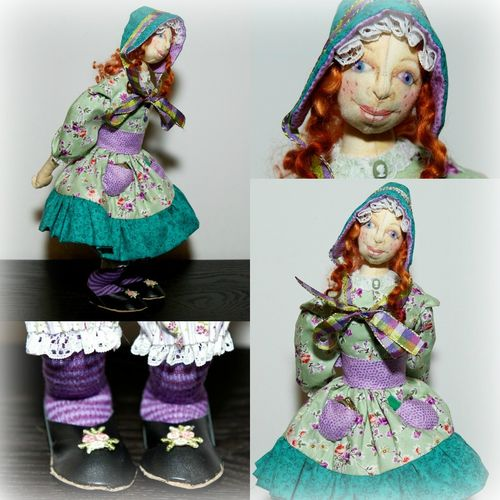 Jo Burke Doll Collage