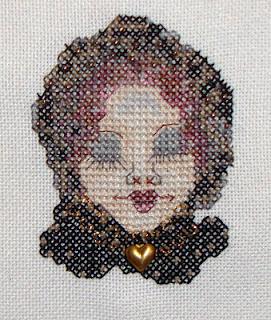 Romona King free cross stitch chart