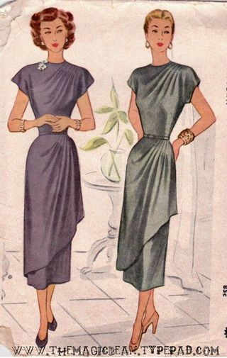 1948 McCall's Pattern Vintage Fashion