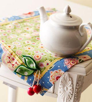 Floral Patterned tabel mat