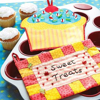 Sweet treats hot pads tutorial