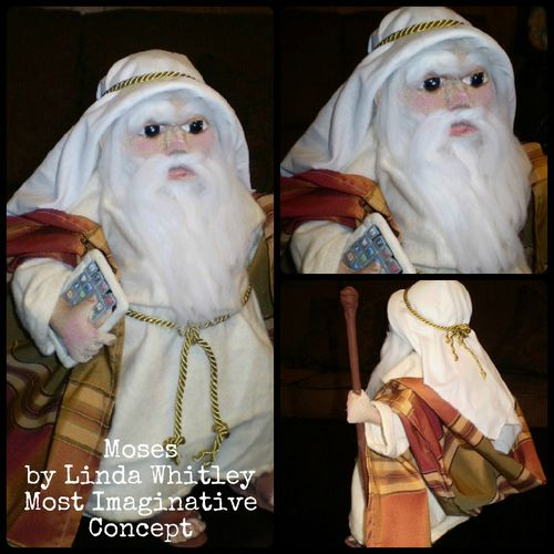 Moses by Linda Whitley Most Imaginative Concept