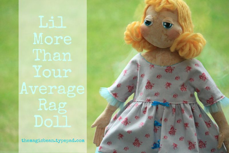 Lil More Than Your Average Rag Doll DIY pattern by Colleen Babcock