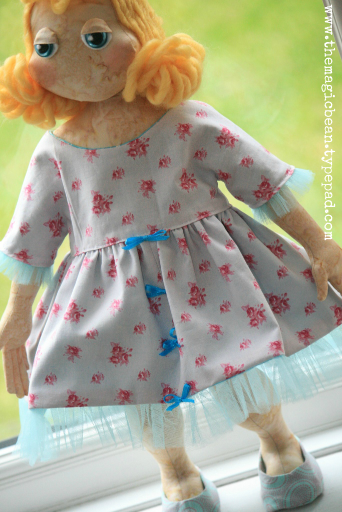 Lil More Than Your Average Rag Doll Free Pattern by Colleen Babcock