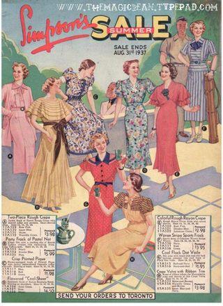 Simpson's catalogue 1937 The Magic Bean