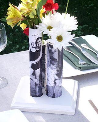 Pvc pipe bud vase