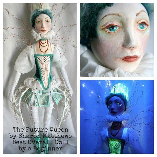Sharon Matthews The Future Queen Best Overall Doll by a Beginner