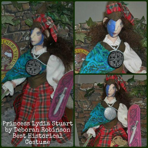 Lydia Stuart by Deborah Robinson Best Historical Costume
