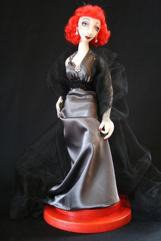 Sharon Matthews doll created from Treasures of the Deep pattern