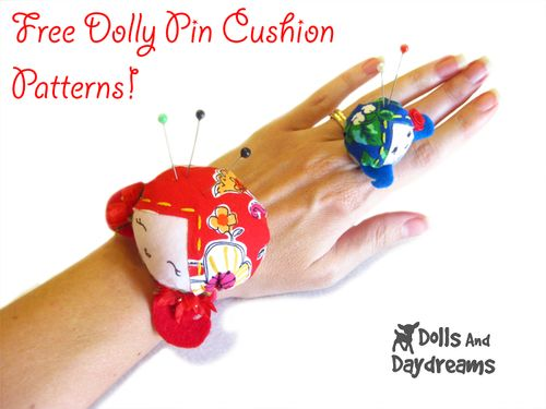 Dolly pin cushion pattern from Dolly and Daydreams