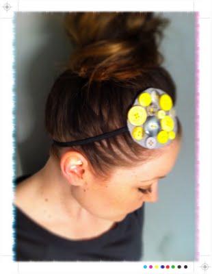 Button headband tutorial