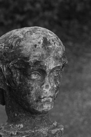 Sculpted head