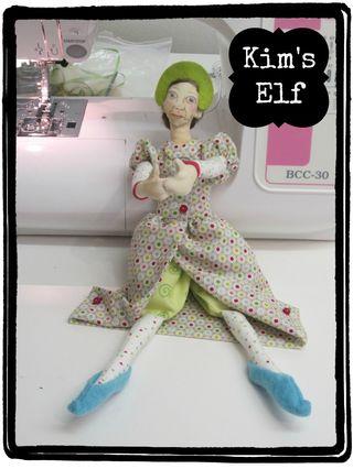 Oops a Daisy elves class Kim's elf
