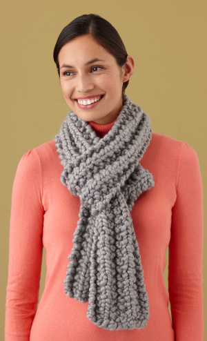 loom-knitting-scarf-instructions Images - Frompo - 1