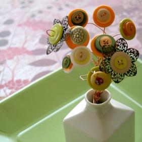 Button bouquet tutorial