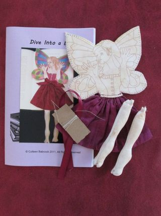 Dive into a Book kit by Colleen Babcock