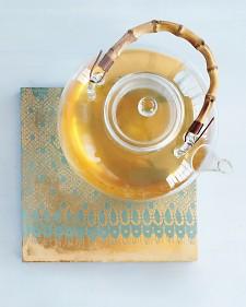 Lace effect tile trivet