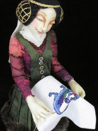 Stitch in Time Darker close up